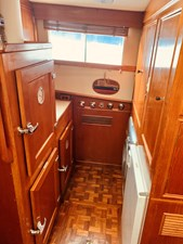 47 Little Red 1984 Grand Banks 49 MY Galley 4