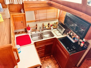 49 Little Red 1984 Grand Banks 49 MY Galley 6