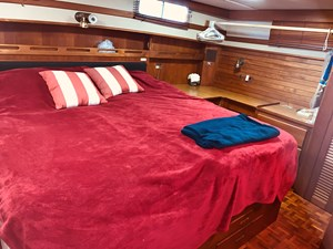 62 Little Red 1984 Grand Banks 49 MY aft cabin 2