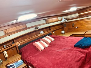 63 Little Red 1984 Grand Banks 49 MY aft cabin 3
