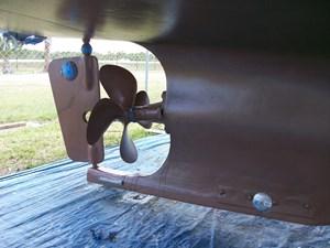 rudder 38 present