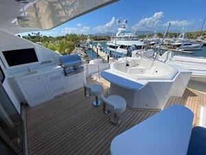 2011 Cheoy Lee 103' 103 Cockpit Motor Yacht - Blue Steele - Sky Lounge