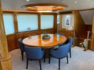 2011 Cheoy Lee 103' 103 Cockpit Motor Yacht - Blue Steele - Dinette