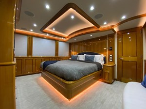 2011 Cheoy Lee 103' 103 Cockpit Motor Yacht - Blue Steele - Master Stateroom FWD