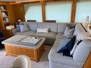 2011 Cheoy Lee 103' 103 Cockpit Motor Yacht - Blue Steele - Salon