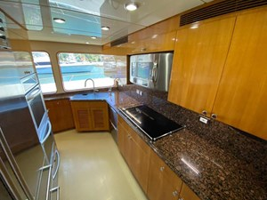 2011 Cheoy Lee 103' 103 Cockpit Motor Yacht - Blue Steele - Galley