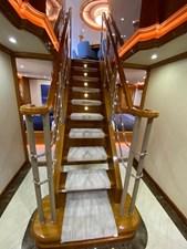 2011 Cheoy Lee 103' 103 Cockpit Motor Yacht - Blue Steele - Aft Foyer