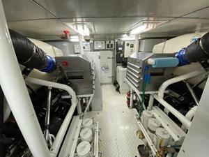 2011 Cheoy Lee 103' 103 Cockpit Motor Yacht - Blue Steele - Engine Room