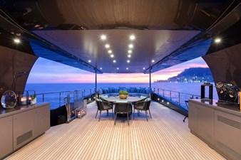 MRS L 16 Sun deck - View forward