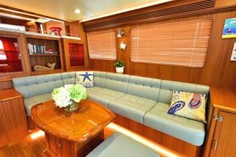 Salon Settee Starboard Side