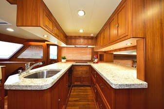 Galley facing Starboard