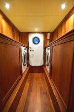 Washer/Dryer - Engine Room Door Aft