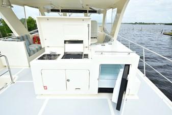 Upper Deck Grill/Sink/Fridge