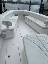 Bow Seats with Storage and Backrest