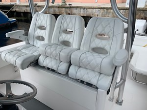 Helm Seats with Electric In/Out Slides