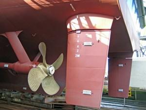 Ocean Xplorer 71  ice-class  rudder props