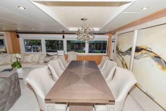 JOHNSON 93 OPEN BRIDGE 10 Salon dining table