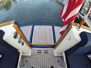 Transom Door and Swim Platform