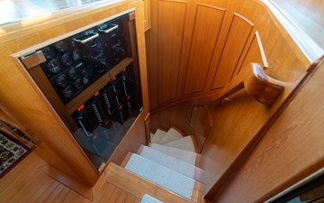 Stairwell to Staterooms