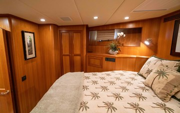 VIP Guest Stateroom to Port