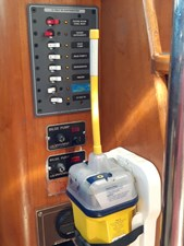 EPIRB and Secondary Electrical Panel