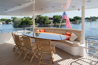 Our Trade 11 Aft Deck Dining