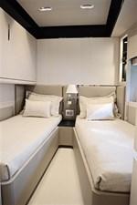 Guest cabin on starboard side