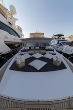 Lounge area on bow