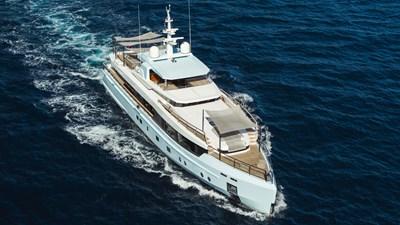 54 SAGE 40m Admiral Running Starboard Bow