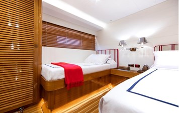 SOLLEONE 11 Twin Guest Stateroom