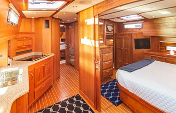 Galley and Master Stateroom