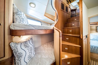 Starboard bunk Area