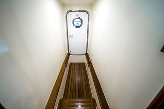 Engine room access through MSR Shower