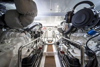 Engine Room facing Aft
