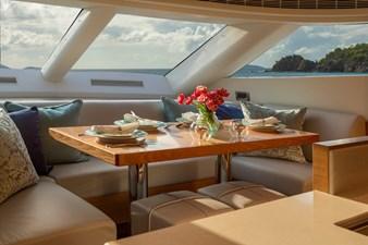 Horizon E75 (New Boat Spec)  14 Dinette