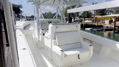 Port deck rear seat