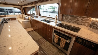 2020 Viking 80 Convertible - Miss Victoria - Galley