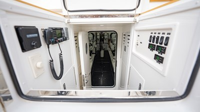 2020 Viking 80 Convertible - Miss Victoria - Engine Room Access