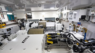 2020 Viking 80 Convertible - Miss Victoria - Engine Room