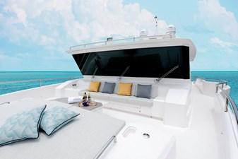 FD80 Skyline (New Boat Spec ) 3 Bow Deck