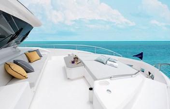 FD80 Skyline (New Boat Spec ) 4 Bow Deck
