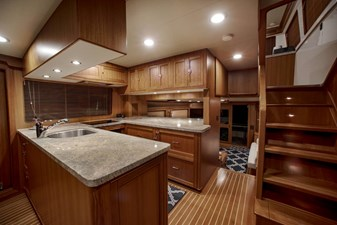12. GALLEY LOOKING AFT