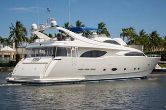 Tomorrow We Ride 133 Starboard Stern Profile