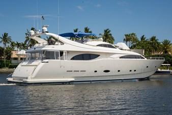 Tomorrow We Ride 134 Starboard Stern Profile