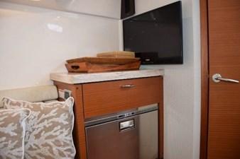 Cabin refrigerator, TV
