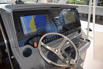 Helm console with AC