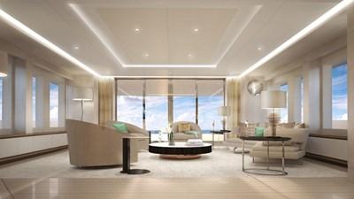 Heesen 50m Steel YN19650 Project Aura 6 Sky Lounge