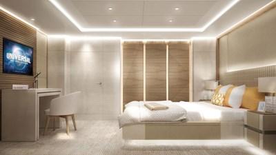 Heesen 50m Steel YN19650 Project Aura 12 Guest suite