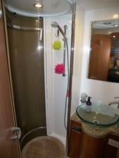 Guest Shower and Washbasin