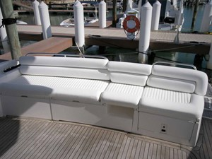 Young Girl 34 Aft Deck Seating
